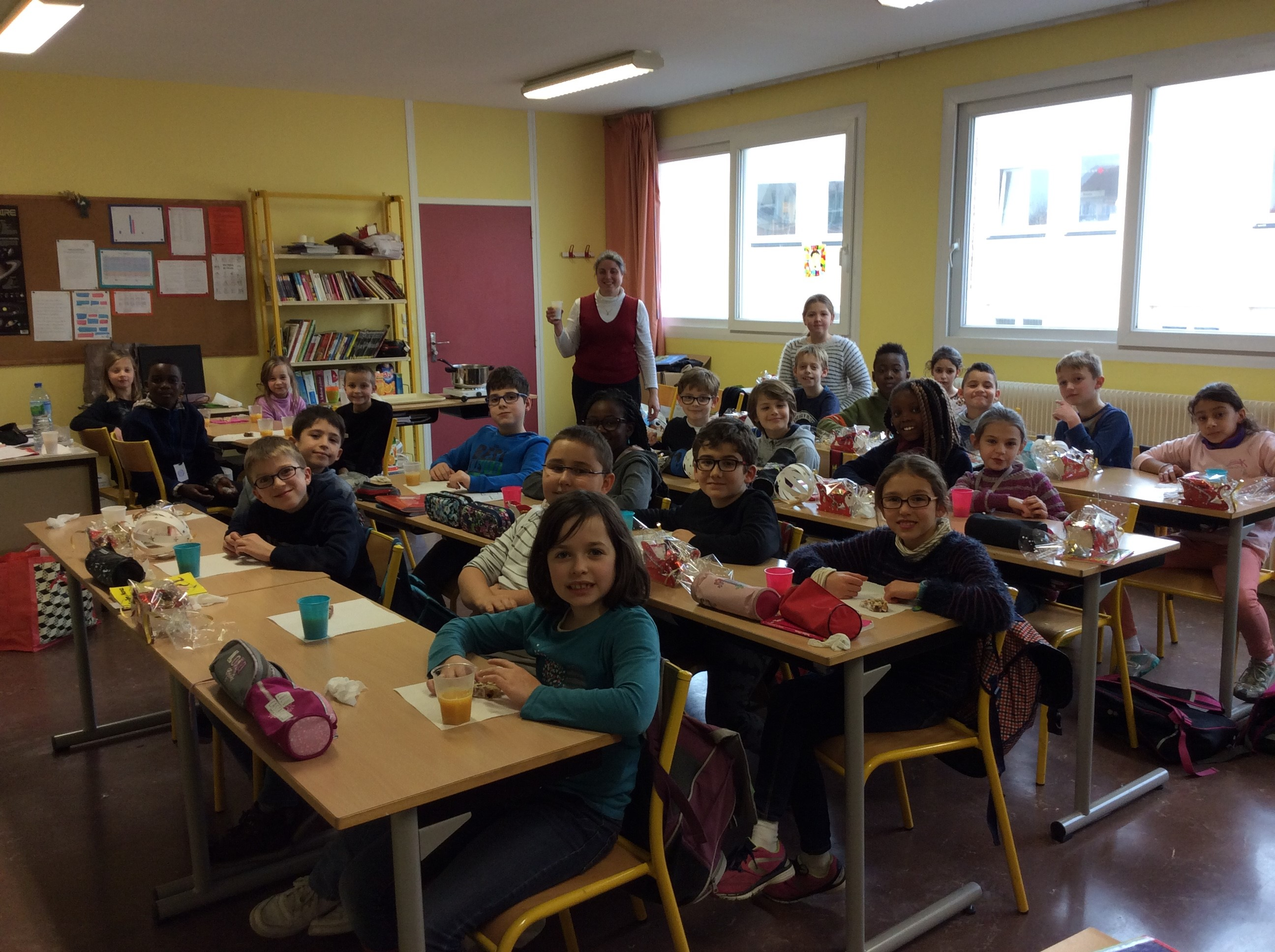 LES CLASSES D'ALLEMAND FETENT NOEL